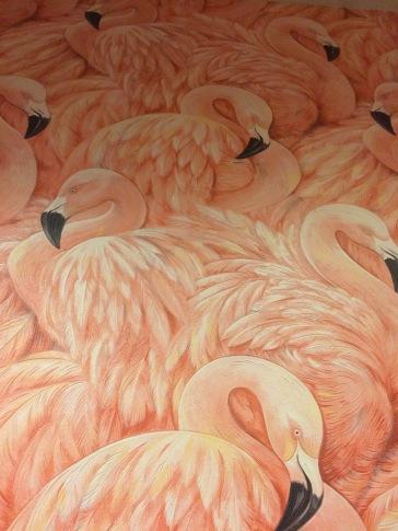 Epic flamingo wallpaper