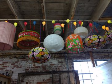 These lanterns made me just want to party