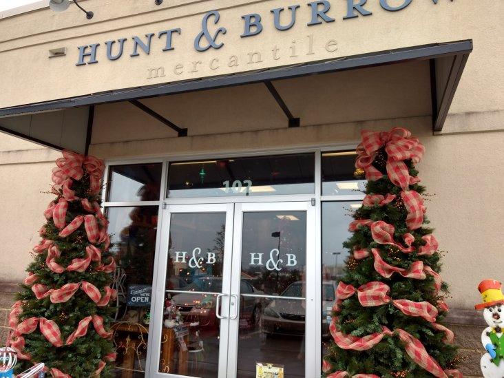 Happy Holidays at Hunt & Burrow!