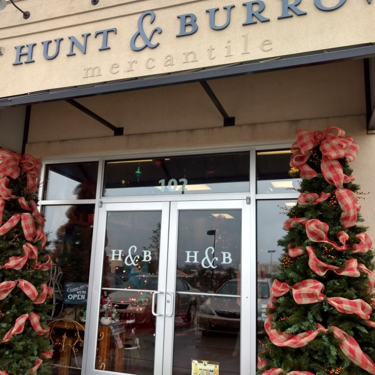 Happy Holidays at Hunt & Burrow!