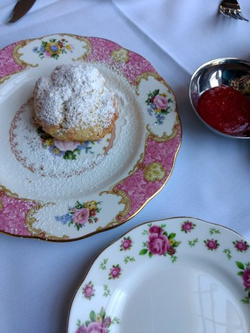 This scone was so yummy